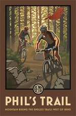 The Old Mill District and Paul Leighton of Steller Designs have produced wonderful collectable posters of #inbend  and the Central Oregon area landmarks including Phil's Trail, Summer Concerts, Tam McArthur and Old Mill District.      Read more here:  https://plus.google.com/u/0/105838462752483179640/posts/9iJ4xhnw7UY