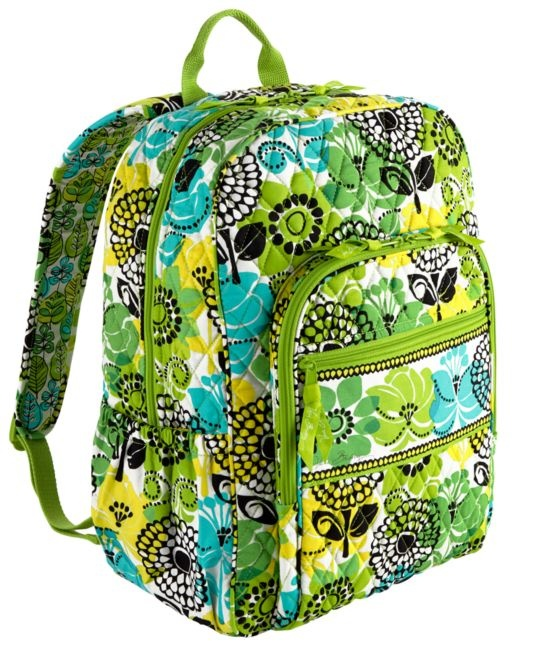 Campus Backpack | Vera Bradley  Lime it up