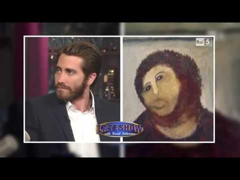 David Letterman Show, Late Night Show, The Best Interview Jake Gyllenhaal 1 - YouTube