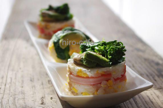 お弁当に♪洋風飾り寿司レシピ | 美肌レシピ