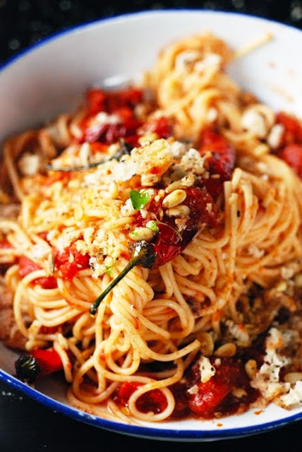 spicy white spicy sangria spaghetti with chickpeas chicken spaghetti ...