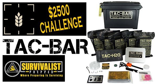 The folks over at Expedition research are getting ready to start a huge giveaway. For those of you who have purchased the Tac-Bar package, you know why...