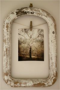 Picture frame ideas - maybe make my home a little more unique!