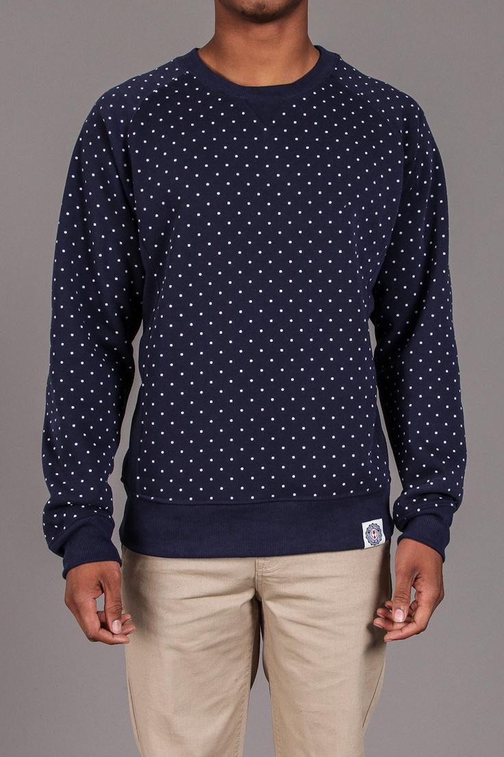 Polka Dot Print Crewneck Sweatshirt / by Artistry In Motion