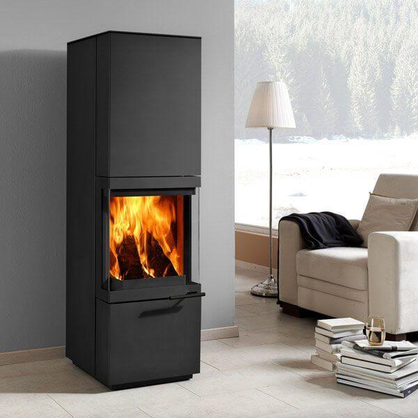 Kaminofen Novaline Maestro AMS, Schwarz günstig kaufen   Feuerdepot®