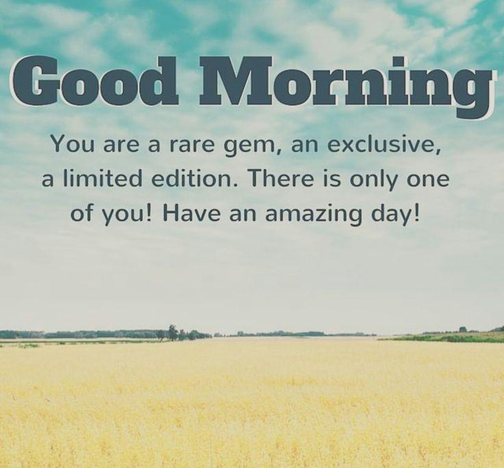 Morning | Good morning inspirational quotes, Good morning
