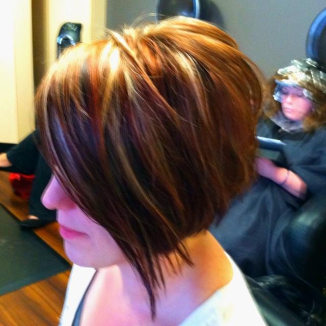 Textured disconnected sling bob  Hair  Long hair styles Hair styles Hair color