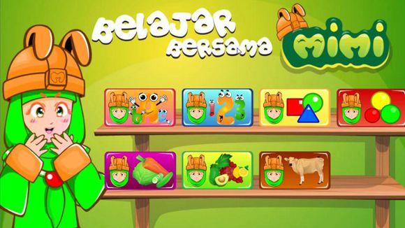 Game Anak Edukasi : Bermain Bersama Mimi