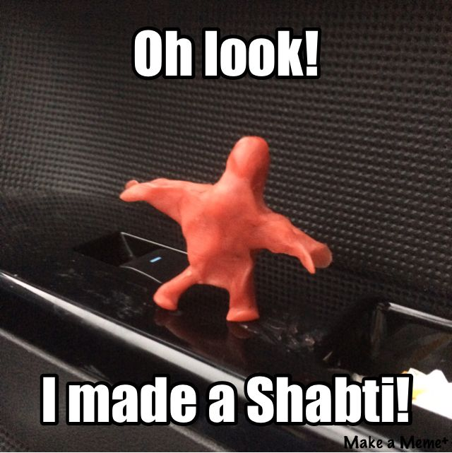 """The Kane Chronicles meme that I made!! I literally took those little cheeses, took the wax of, and made who I call """"doughboy the second"""""""