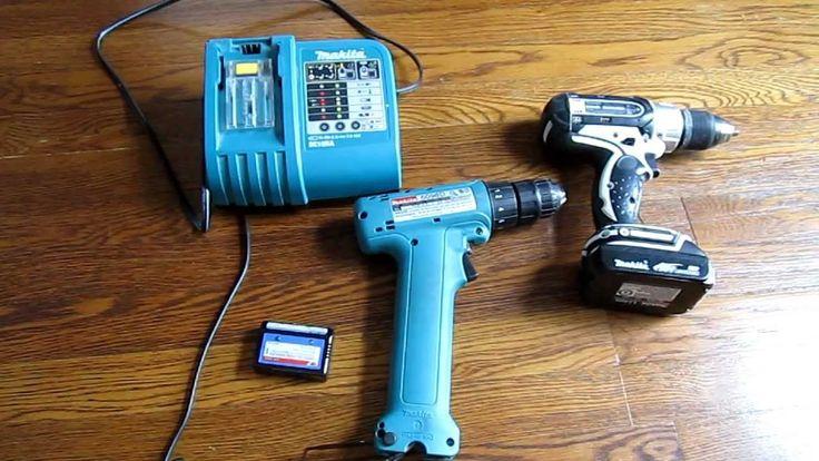 Run Cordless Drill Off Car Battery