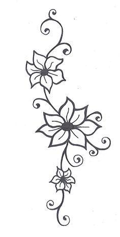 Pin De Eva En Dibujos Tumblr Tatuajes De La Flor De Jazmin