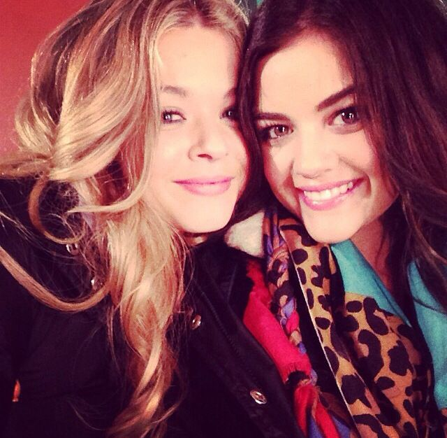 Photo of Sasha Pieterse  & her friend Lucy Hale