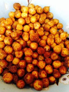 Cooking chick peas as a snack x 3