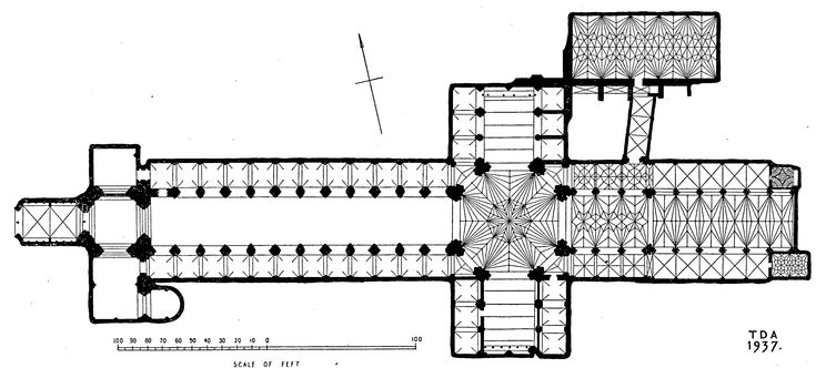 Play of Vaulting | Cathedral Church of the Holy and Undivided Trinity, Ely | City of Ely: Cathedral | British History Online
