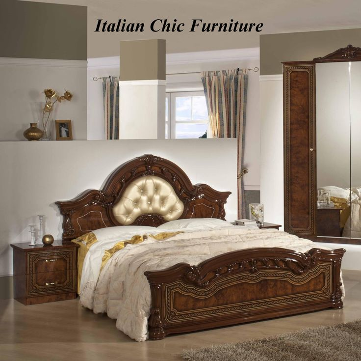 11 Best Italian Chic Bedroom Furniture Images On Pinterest Free Delivery Italian Chic And Bed