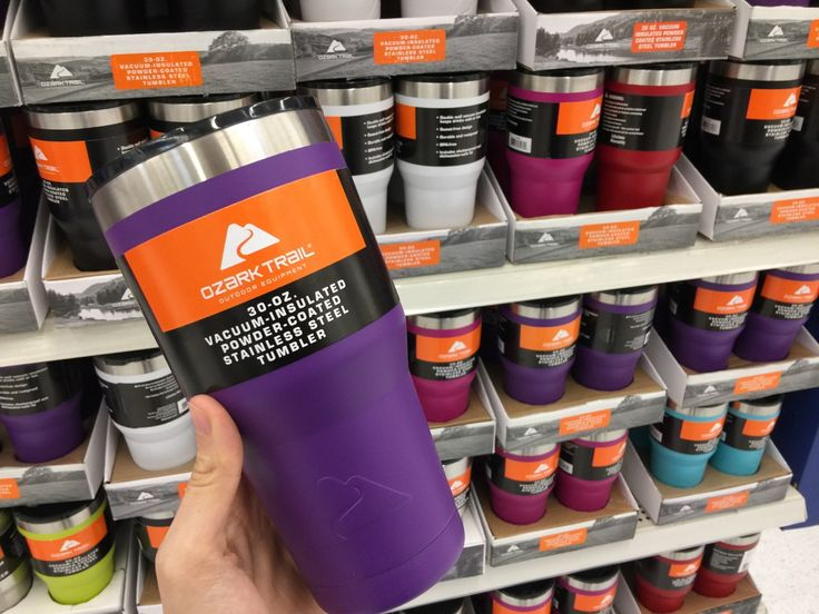 Ozark Trail 30 Oz. Vacuum Insulated Tumbler, Only $8.74 at Walmart!