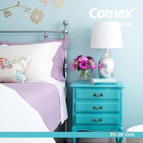 El color celeste transmite paz y tranquilidad utiliza for Paginas para disenar habitaciones