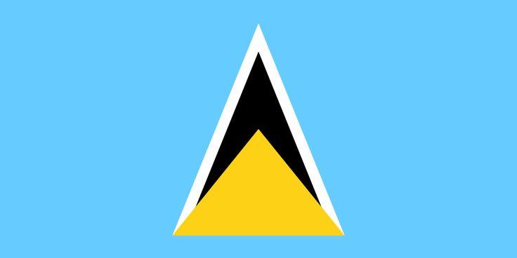 Flag of Saint Lucia - Saint Lucia - Wikipedia, the free encyclopedia