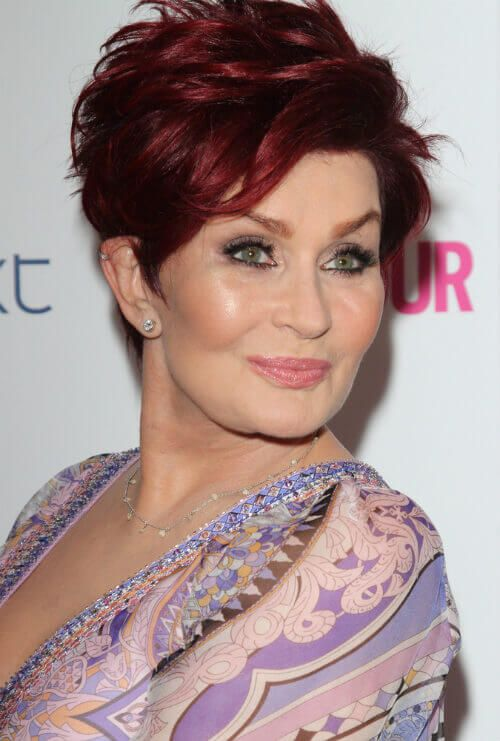 Sharon Osbourne Short Hairstyle