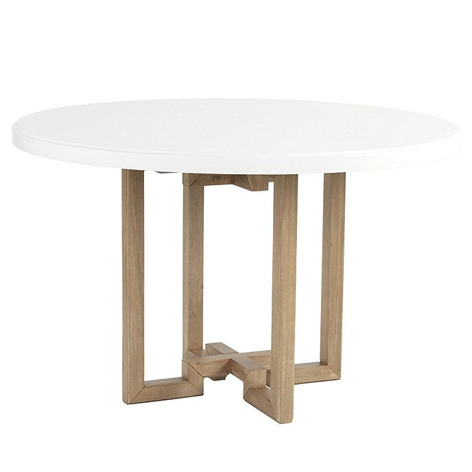 Metz 48 Inch Round Dining Table Top Table Bases White Round Tables 48 Round Dining Table Table