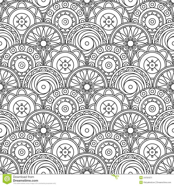 abstract doodle coloring pages colouring adult detailed advanced printable kleuren voor