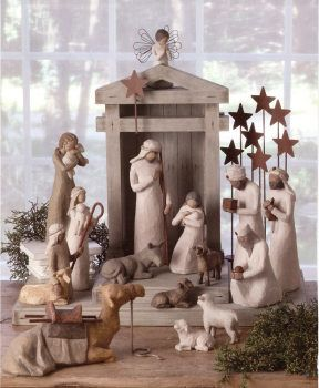 Willow Tree Nativity - I want this so much!!! <3 Willow Tree Angels
