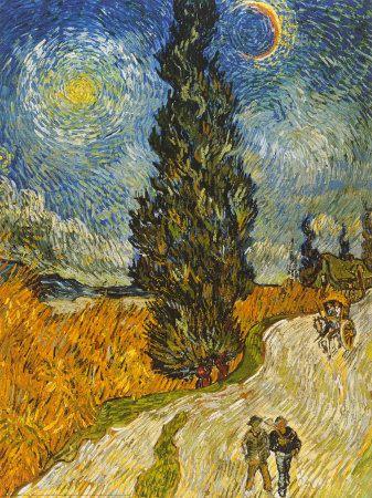 Artes do A'Uwe: Obras de Vincent Van Gogh