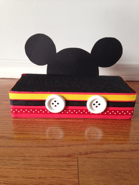 This is such a cute Mickey Mouse inspired stand that will pop on any table. This stand is 8x4 and will hold up up to 18 Cake Pops.    If you would