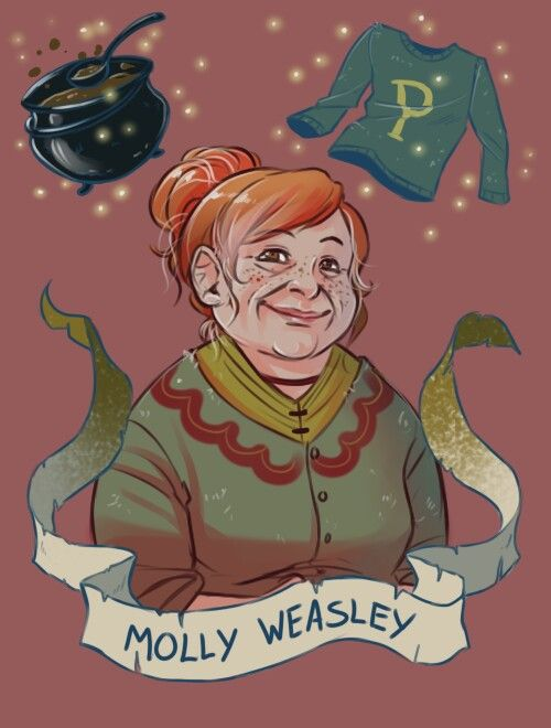 Molly Weasley by: Brenna-Ivy