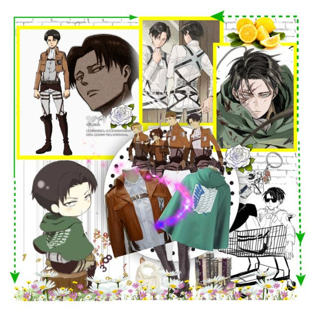 """Rivaille Levi Cosplay from Attack on Titan/Shingeki no Kyojin"" by linda-lin-1 ❤ liked on Polyvore"