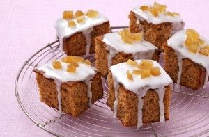 If you love the warm spiciness of ginger cake, this Woman's Weekly recipe for gingerbread cubes made with stem ginger make a delicious snack or tray bake treat. They're freezable too.Get the recipe: Gingerbread cubes