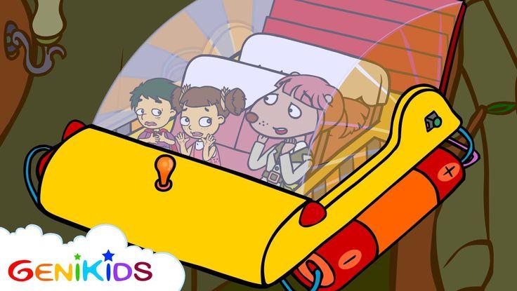 Film: L'exploration du monde des dinosaures - Episode 2 - Dessin animé éducatif Genikids