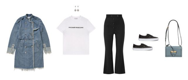 """Untitled #673"" by super-mara ❤ liked on Polyvore featuring Proenza Schouler, Gosha Rubchinskiy, Vans, Loewe, vans, proenzaschouler, loewe, ambush and gosharubchinskiy"