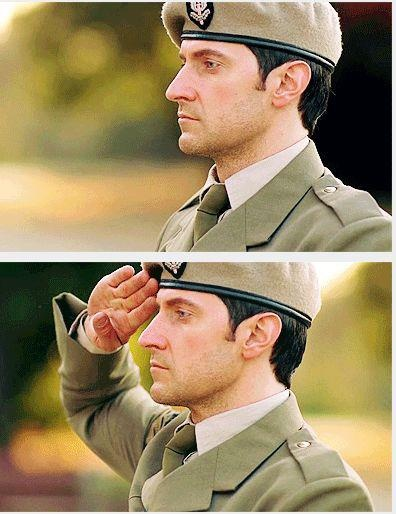Richard Armitage in uniform.... I, I, I can't even..