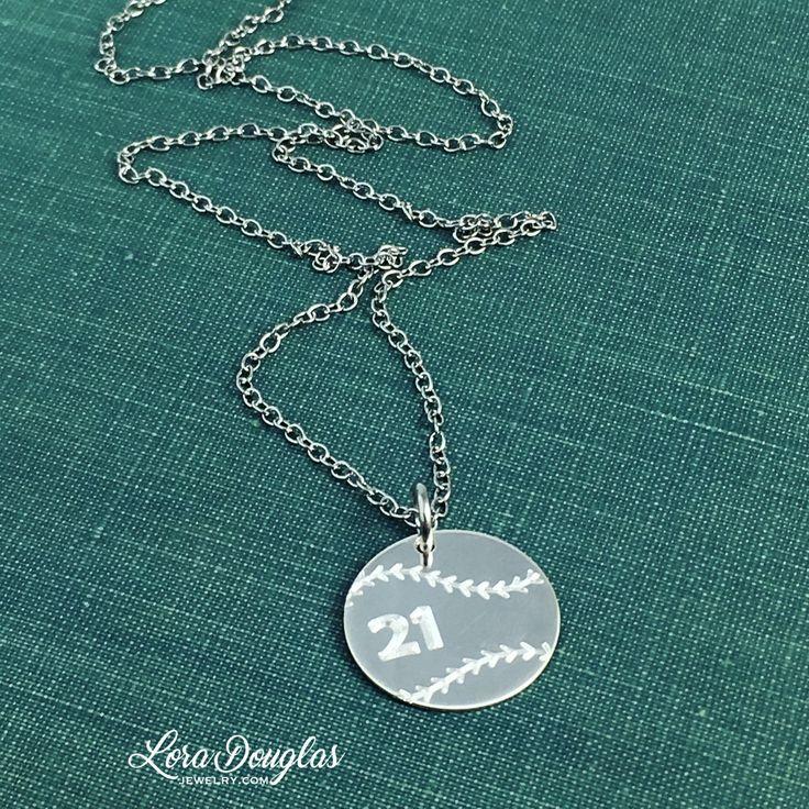 Personalized Baseball Charm Necklace  #baseball #baseballlife #baseballmom #baseballjewelry #Jewelry #handmadejewelry #jewelrymaking #maker #accessories #style #handmade #etsy #etsyusa #etsyseller #etsyjewelry #musthave #fashionjewelry