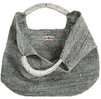 Flora Bella, Crochet Raffia Leather Tote | Piajeh Boutique