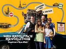 Mrs Ratcliffe's Revolution is a 2007 British comedy drama film, directed by Bille Eltringham and starring Catherine Tate, Iain Glen and Brittany Ashworth, about a British family who move to East Germany in 1968, during the Cold War. It was filmed in Hungary and the United Kingdom (UK), and was released on 9 July 2007 at the Cambridge Film Festival, and nationwide in the UK on 28 September. <3 <3 <3 <3 /4