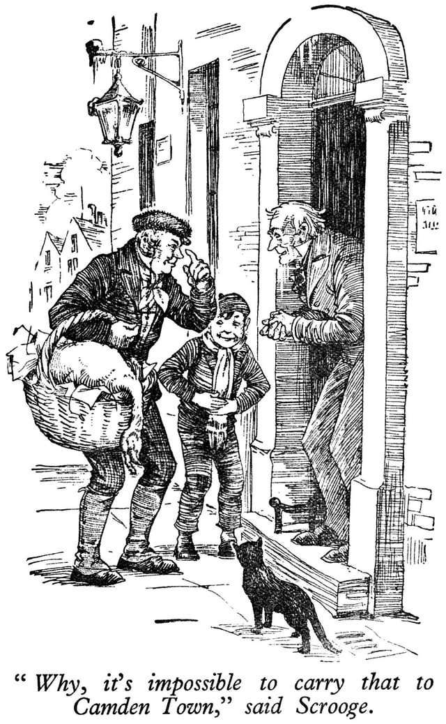 In the story A Christmas Carol by Charles Dickens what is the name of Scrooge's nephew?