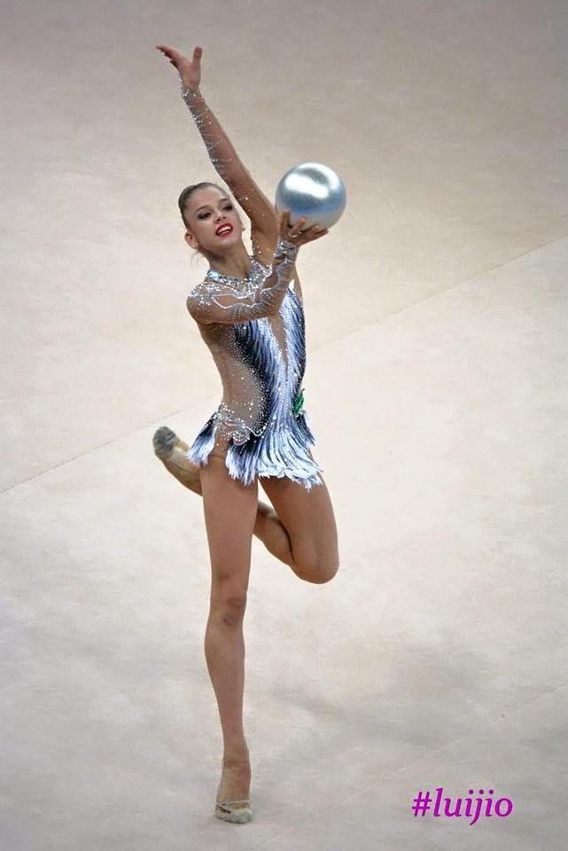 Aleksandra Soldatova, Russia, won gold at World Cup Pesaro 2015