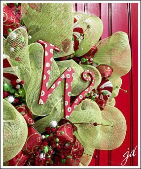 How To Make A Wreath For Your Front Door! Step By Step Instructions For  Making