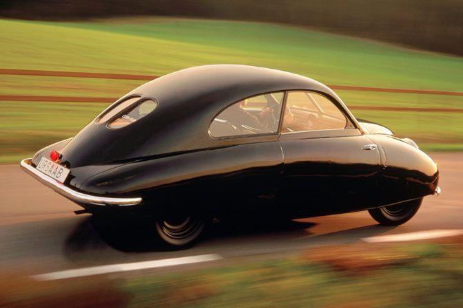 1947 saab 92 prototype is the bomb...streamline design.