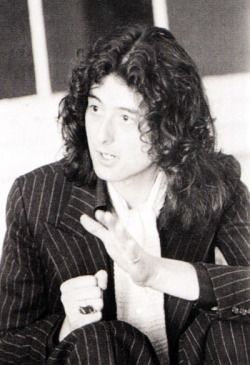 Jimmy Page, Swang Song Records, London. March-April, 1976.