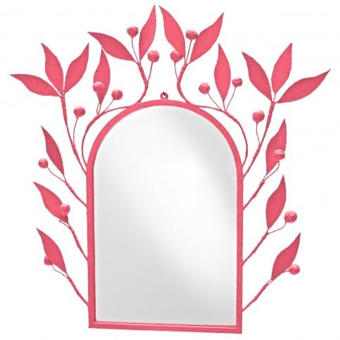 THE WELL APPOINTED HOUSE - Luxury Home Decor- Leaves and Berries Archway Wall Mirror
