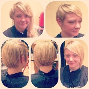disconnected bob hairstyles - Google Search | Bob hairstyles, Hair styles, Disconnected bob