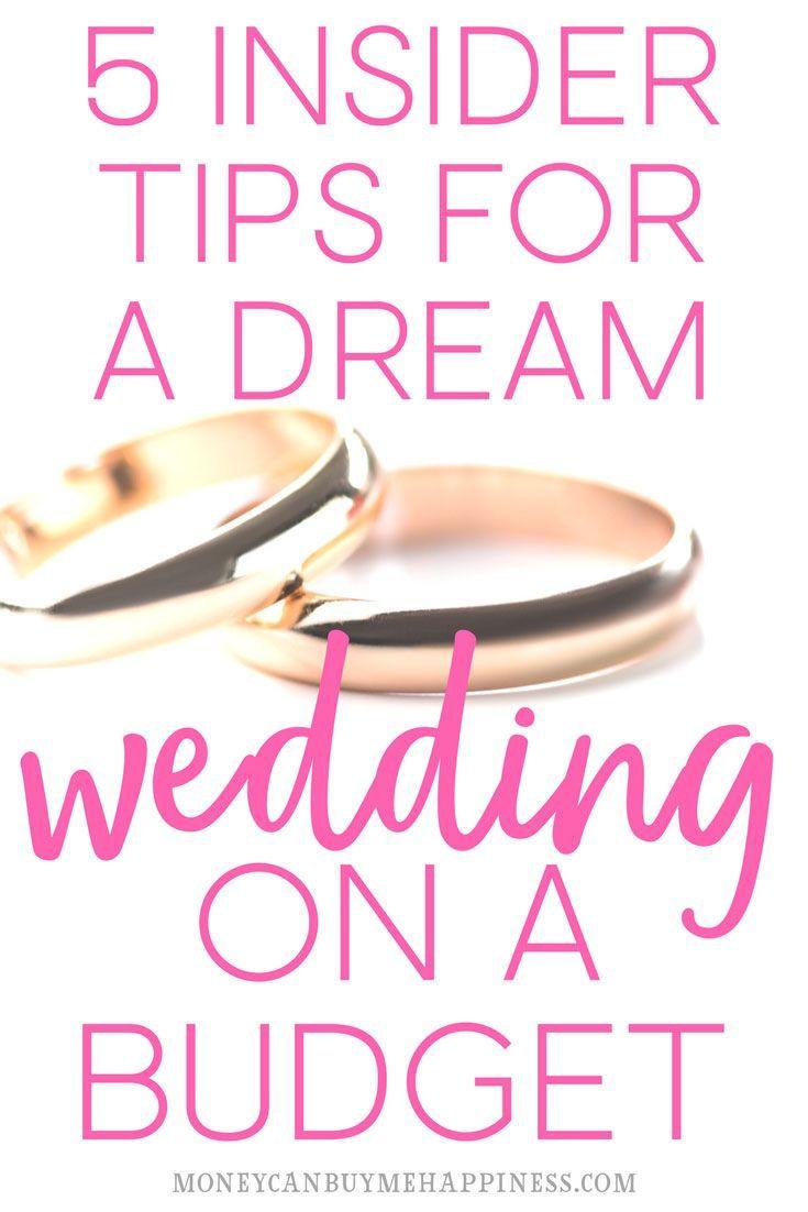 wedding ideas on a budget | cheap wedding tips