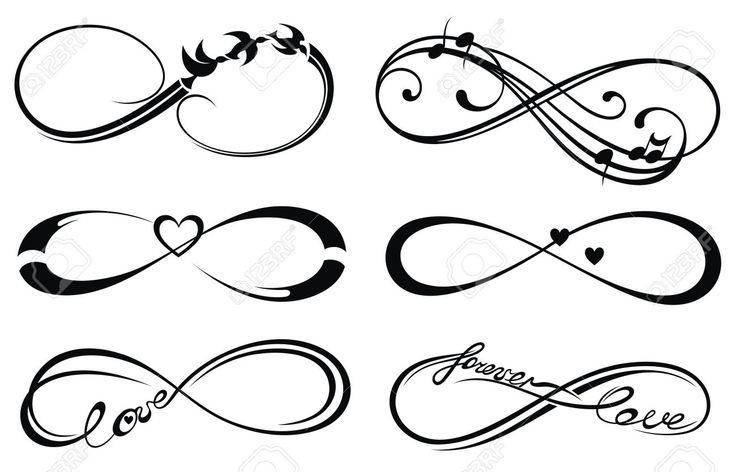 Amour Infini, Toujours Symbole Clip Art Libres De Droits ...