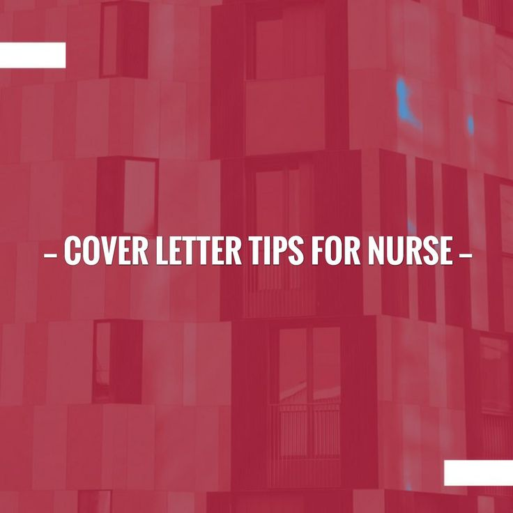 Just in: Cover letter Tips for Nurse http://learn.jobisite.com/cover-letter-tips-nurse/