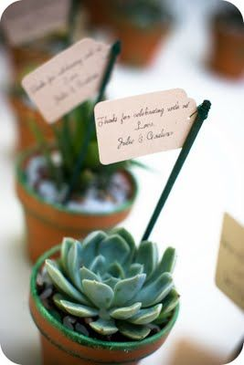 Put guests name on it & use for wedding seating assignment...cute + gift!