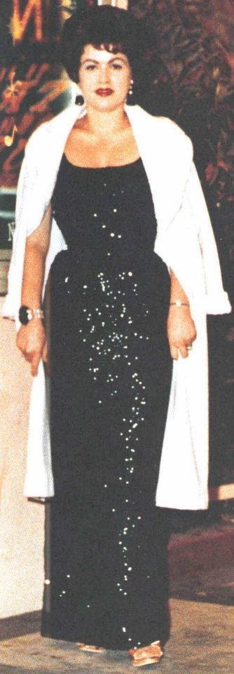 Patsy Cline at the Mint Casino, Las Vegas Nevada. 1962-63 New Years Holiday