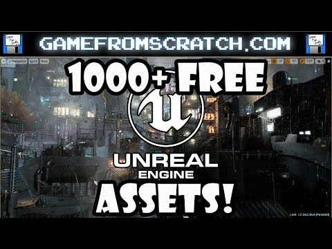41) 1000+ Free Assets for Unreal Engine Released - YouTube